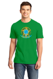 Standard Green Brazil Coat Of Arms - Brazilian Pride Love Rio Bahia Brasil T-shirt