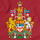 CANADIAN NATIONAL COAT OF ARMS Red art preview
