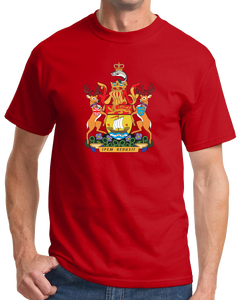 Standard Red New Brunswick Provincial Coat Of Arms - Canada Nouveau-Brunswick T-shirt