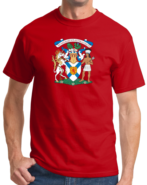 Standard Red Nova Scotia Provincial Coat Of Arms - Canada Halifax Pride T-shirt