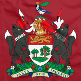 PRINCE EDWARD ISLAND PROVINCE COAT OF ARMS Red art preview