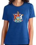 Ladies Royal British Columbia Coat of Arms- Victoria Canada Vancouver Pride T-shirt
