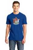 Standard Royal British Columbia Coat of Arms- Victoria Canada Vancouver Pride T-shirt