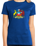 Ladies Royal Chile Coat Of Arms - Flag Heritage Ancestry Pride Chilean T-shirt