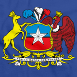 CHILE COAT OF ARMS Royal Blue art preview