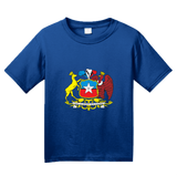 Youth Royal Chile Coat Of Arms - Flag Heritage Ancestry Pride Chilean T-shirt