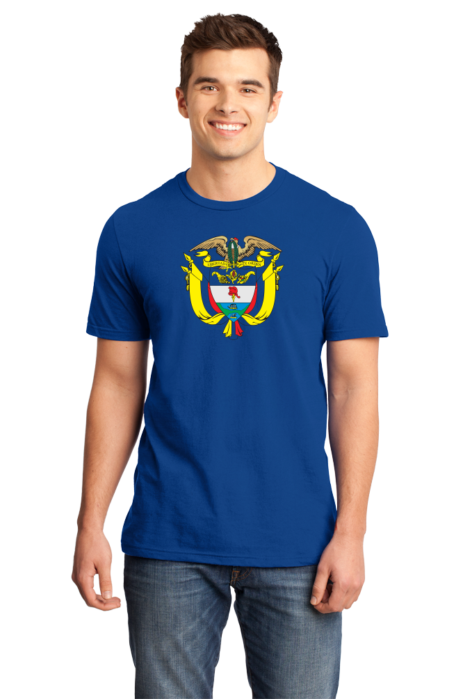 Standard Royal Colombia Coat Of Arms - Columbian Pride Flag History Heritage T T-shirt