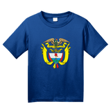 Youth Royal Colombia Coat Of Arms - Columbian Pride Flag History Heritage T T-shirt