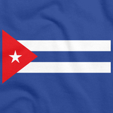 CUBAN NATIONAL FLAG Royal Blue art preview