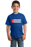 Youth Royal Cuban National Flag - Cuba Fidel Castro Pride Heritage Love T-shirt