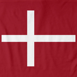 DENMARK NATIONAL FLAG Red art preview