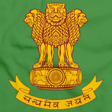 INDIAN NATIONAL EMBLEM Green art preview