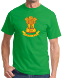 Standard Green Indian National Emblem - India Heritage Pride Ashoka Lion T-shirt