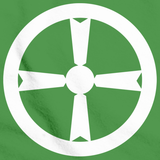 AKITA CITY, TOHOKU FLAG Green art preview