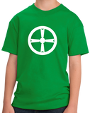 Youth Green Akita City, Tohoku Flag - Japan Japanese Nippon Heritage Pride T T-shirt