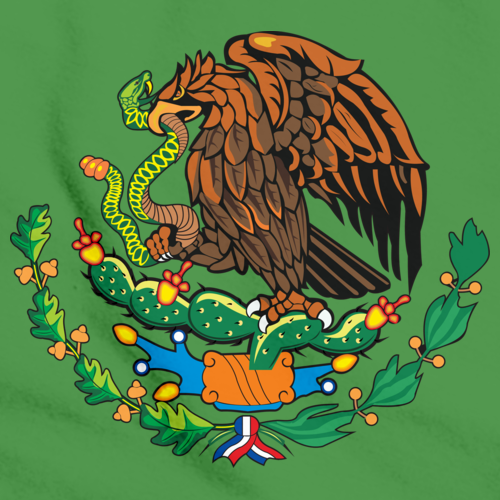 MEXICAN COAT OF ARMS Green art preview