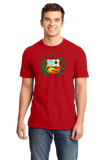 Standard Red Peruvian Coat Of Arms Flag - Peru Pride Love Cusco Heritage T-shirt