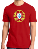 Standard Red Portuguese Coat Of Arms - Portugal Pride Heritage Love Flag T-shirt