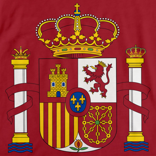 SPANISH COAT OF ARMS Red art preview