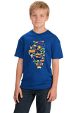 Youth Royal Illinois Icon Map - Illinois Pride Chicago Love Midwest Cute T-shirt