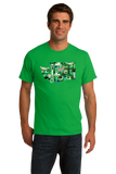Standard Green Washington Icon Map - Evergreen State Love Seattle Pride T-shirt