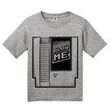 Youth Grey Blow Me - Old School Video Gamer T-shirt