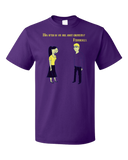 Standard Purple Totally Cute Chemistry Joke - Humor Science Funny Bad Elements T-shirt