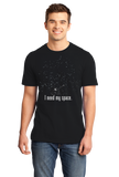 Standard Black I Need My Space T-shirt