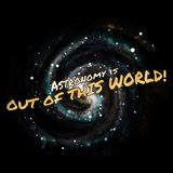 Astronomy Is Out Of This World! Black art preview