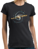 Ladies Black Astronomy Is Out Of This World! - Geek Pride Nerd Funny Science T-shirt