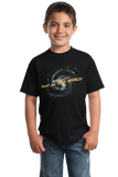 Youth Black Astronomy Is Out Of This World! - Geek Pride Nerd Funny Science T-shirt