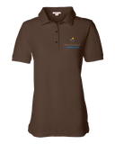 Ladies Pique Polo Brown North Star Reach - Ladies' Pique Polo T-shirt