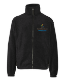 Youth Full Zip Fleece Jacket Black North Star Reach - Youth Full Zip Fleece Fleece