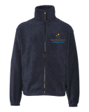 Youth Full Zip Fleece Jacket Navy North Star Reach - Youth Full Zip Fleece Fleece