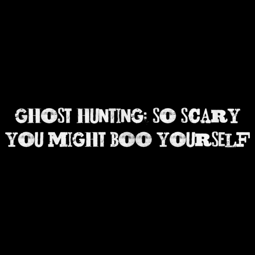 Ghost Hunting: So Scary You Might Boo Yourself Black art preview