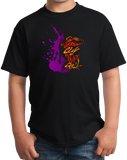 Youth Black Give Blood, Play Paintball - Funny Paintball Player Humor Fan T-shirt