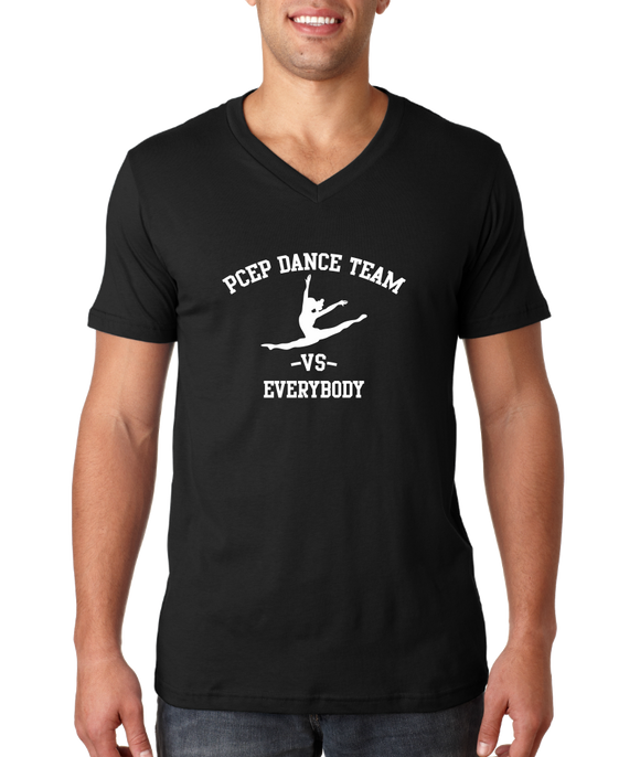 V Neck Black PCEP vs Everybody V-Neck T-shirt