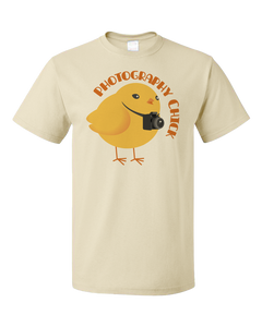 Standard Natural Photography Chick - Funny Photographer Humor Cute Photo Joke T-shirt