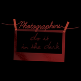 Photographers Do It In the Dark Black Art Preview