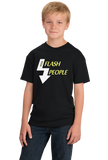 Youth Black I Flash People - Photographer Humor Silly Gift Photo Digital T-shirt