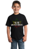 Youth Black 4:19 (Give Me A Minute!) - Marijuana Pot Smoking Fan  T-shirt