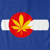 Colorado Pot Leaf | Marijuana Legalization Royal Art Preview