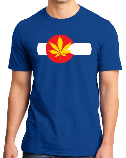 Standard Royal Colorado Pot Leaf - Marijuana Legalization T-shirt