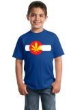 Youth Royal Colorado Pot Leaf - Marijuana Legalization T-shirt