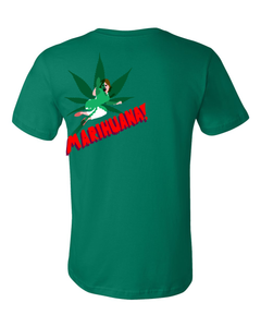 Standard Green Horrors of Marihuana - Retro Marijuana Reefer Madness Fan Funny T-shirt
