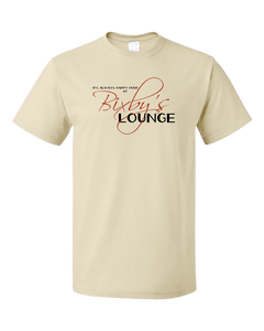 Standard Natural Shipwrecked - Happy Hour at Bixby's Lounge T-shirt