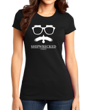 Girly Black Shipwrecked Logo Crewneck T-shirt