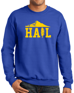 Crewneck Sweatshirt Royal Portland U of M Club Hail Dark Crewneck-Sweatshirt