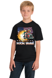 Youth Black America Fuck Yeah! - Merica Patriotism Funny Merica 4th of July T-shirt