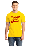 Standard Yellow Average Joe's - Dodgeball Movie Homage Funny Ben Stiller Humor T-shirt